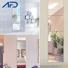 3d Mirror Wall Stickers 6Pcs 9PCS/Set Acrylic Mirror Surface