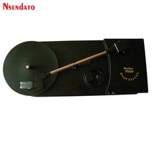 Przenośny 3.5 Mini wielofunkcyjne USB 2.0 gramofon gramofon nagrywaj odtwarzacz Audio na MP3/WAV/CD konwerter LP na 33 45PRM