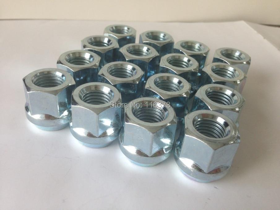20PCS OPEN END BULGE ACORN WHEEL LUG NUTS 12X1.5 Zinc FINISH for Toyota Highlander 2006-2008