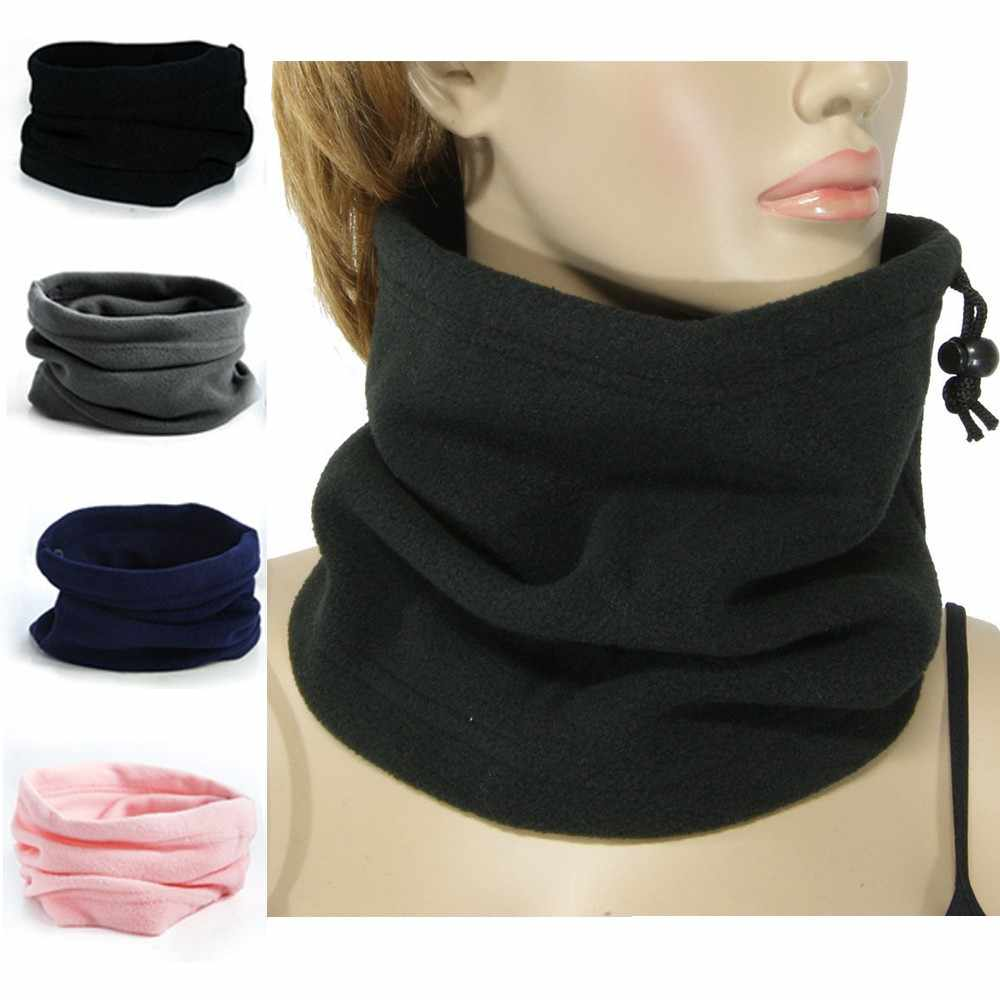 2018 1PC 3in1 Unisex Beanie Hoeden Ski Snood Sjaal Vrouwen Mannen Thermische Fleece Sjaal Snood Halswarmer Gezichtsmasker winter Lente