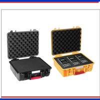 Tool case toolbox suitcase Impact resistant sealed waterproof safety case 280*246*106mm equipment box case with pre cut foam