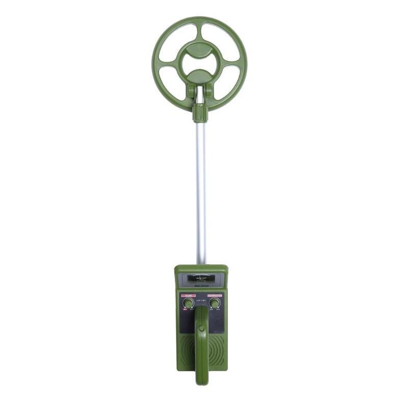 Détecteur de métaux MD3030 détecteur de métaux vert souterrain réglable explorer et chasseur de pièces