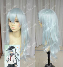 Wholesale heat resistant LY free shipping Collection Hibiki Fashion Long Light Blue Cosplay Wig Hair Hibiki