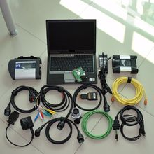 sd connect mb star c4 for bmw icom next 2in1 diagnostic tool installed 1 tb hdd newest software in d630 laptop run fast