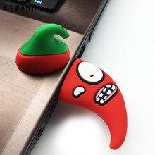Cartoon Vegetables Pepper USB Flash Drive usb 2.0 8GB 16GB pendrive 32GB 64GB 128gb Stick Creative Pen Free Shipping