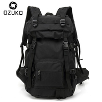 2017 New Style Large Capacity Travel Men Backpack Casual Backpacks Oxford Cloth Waterproof And Durable Rucksack
