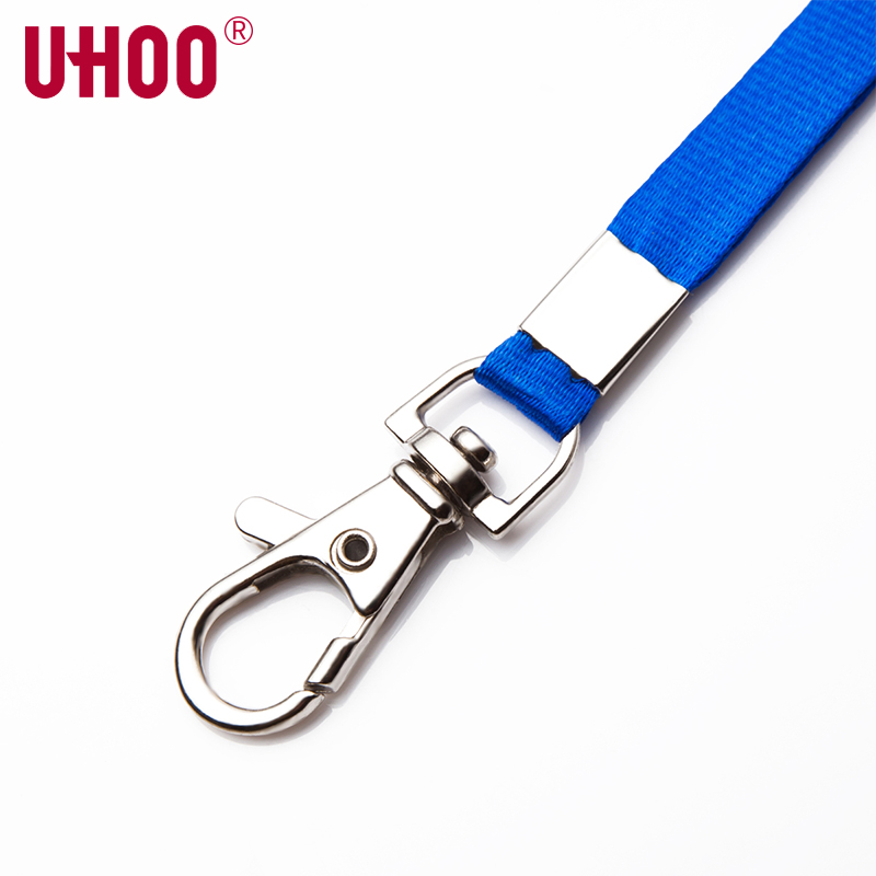 100 pcs UHOO 6741 10mm Lobster Lanyard for  ID Card Holder Exhibition Card Buss Card Name Badge Holder Neck Suspension Cord Rope-in Badge Holder & Accessories from Office & School Supplies    3