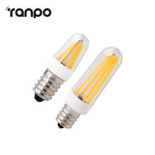 E12 E14 Dimmable Silicone Crystal LED Corn Bulb COB Light 4W 8W 9W Mini Filament Lamp 220V 110V High Power Candle Lighting(China)