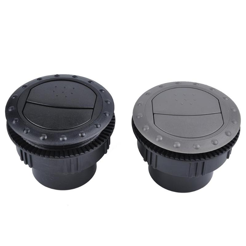60mm Car RV ATV A/C Vent Air Outlet Rotating Air Conditioning Ventilation Outlet Interior Round Ceiling