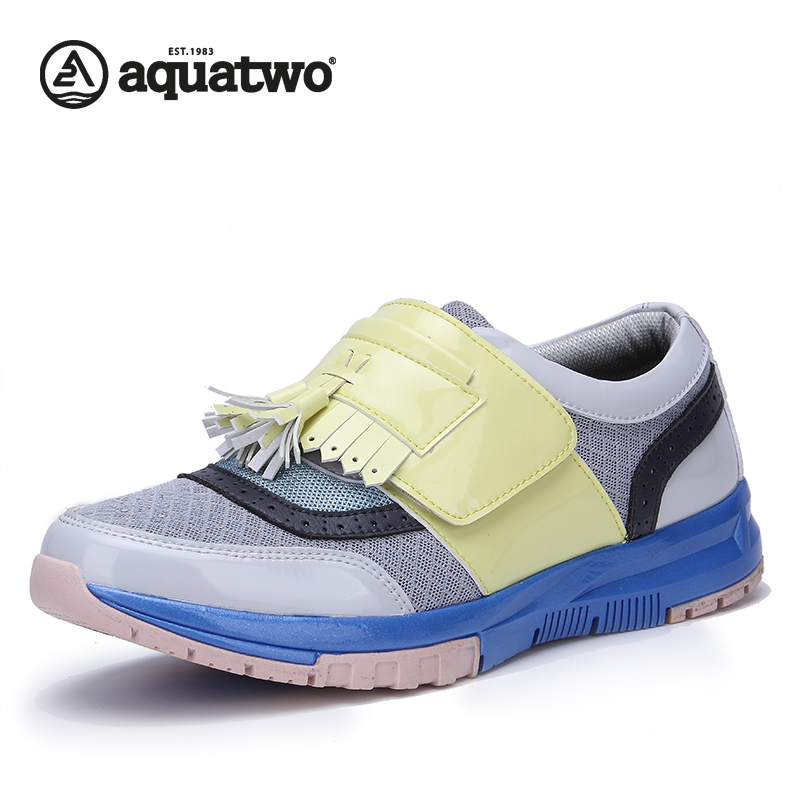 SIX LEE Design AQUATWO Brand Fashion Shoes Spring Autumn Luxury Microfiber Trend Style Casual Shoes US6.5-12# Men Shoes Hot Sale