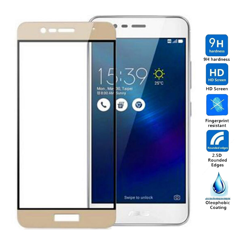 For <font><b>Asus</b></font> <font><b>Zenfone</b></font> 3 Max ZC520TL Tempered <font><b>Glass</b></font> Screen Protector Full Cover <font><b>Glass</b></font> For <font><b>Asus</b></font> ZC520TL <font><b>X008D</b></font> ZC ZC520 520 520TL image