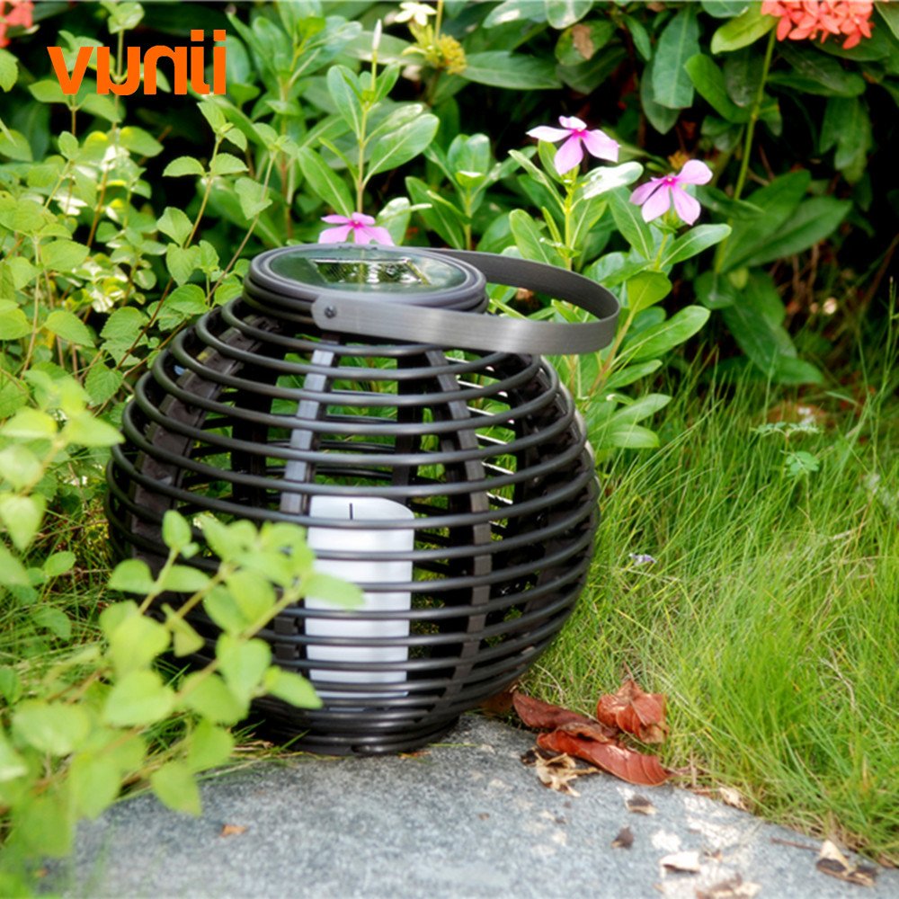 Image 5 - Waterproof LED Solar Powered Candle Lantern With Flickering Amber Luminaria Solar Lamp Outdoor Lighting Decorative Solar Light-in Solar Lamps from Lights & Lighting on AliExpress