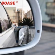 2pcs Adjustable Car Rearview Round Mirror