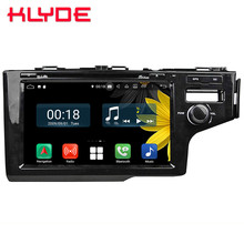 9″ IPS Octa Core 4G WIFI Android 8.1 4GB RAM 64GB ROM RDS Car DVD Player Stereo Radio GPS Glonass For Honda Fit Jazz 2014-2016