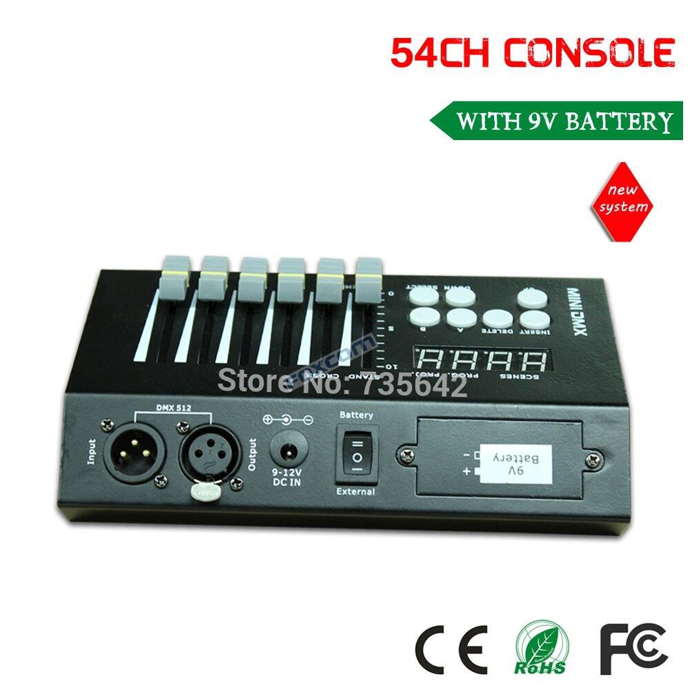 dmx 512 контроллер консоли