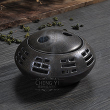 Gossip incense burner incense coil incense burner censer new incense burner censer porcelain Buddha tea censer стоимость