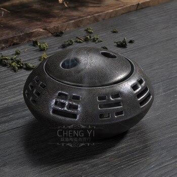 Gossip incense burner incense coil incense burner censer new incense burner censer porcelain Buddha tea censer