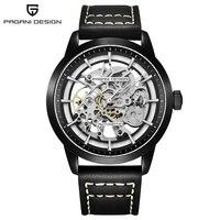 Relogio Masculino PAGANI DESIGN Fashion Mechanical Skeleton Watch Men Waterproof Luxury Brand Automatic Business Wrist Watch Man