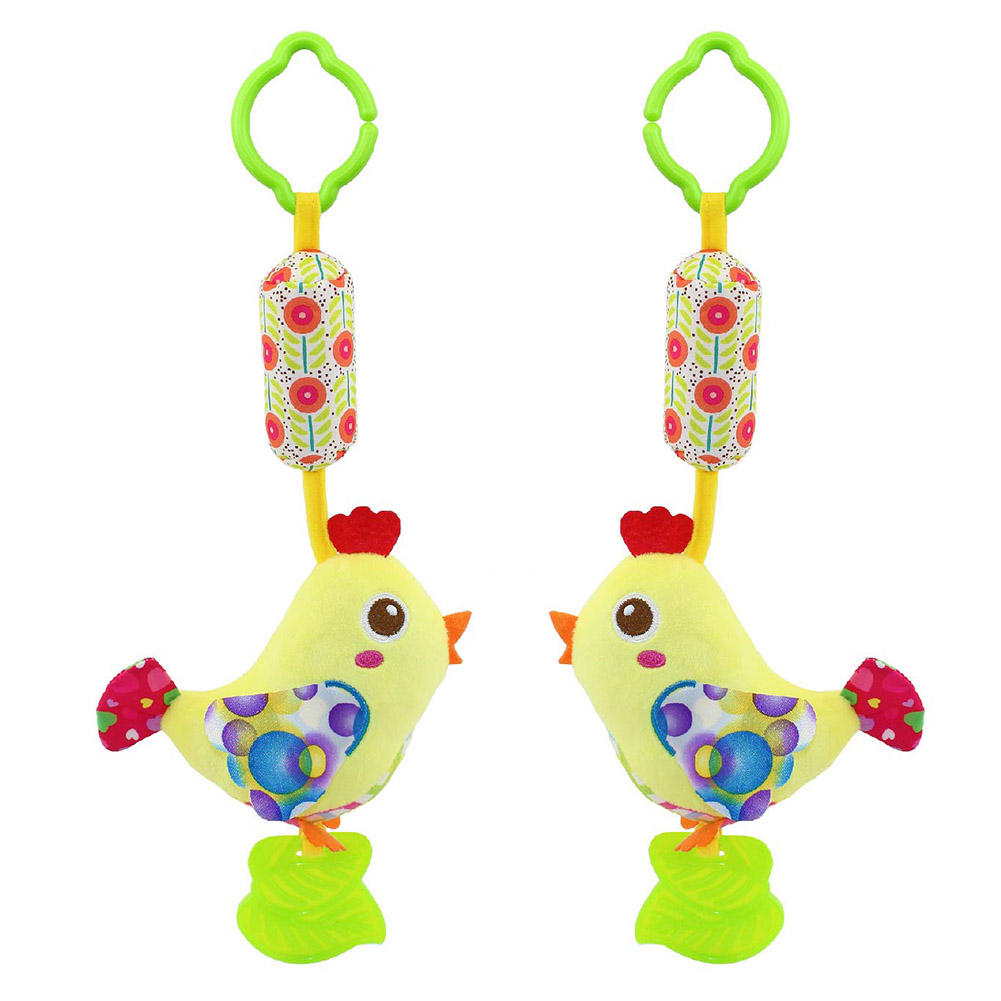 Infant-Wind-Chimes-Plush-Toys-Hanging-Newborn-Crib-Car-Lathe-ButterflyBirdChicksOwl-Animal-Baby-Bed-Rattles-Bell-Toy-5