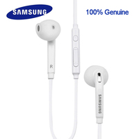Genuine Samsung eo-eg920bw earphone In-ear with control speaker for xiaomi note1/2/3 rednote 1/2/3/4 Galaxy S6 S7 Edge /S3/S4/S5