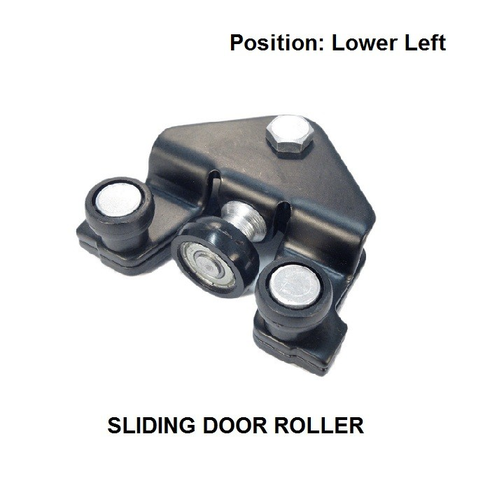 OE#7700312012 FOR VAUXHALL OPEL VIVARO 2001-2010 LOWER LEFT SIDE MODELS SLIDING DOOR ROLLER NEW