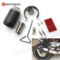 Universal DB Killer Motorcycle Muffler Exhaust 51mm Pipe For Yamaha R1 FZ1 MT 07 XJ6 MT09 YZFR125 Accessories motorbike dbKiller