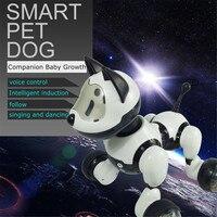 Intelligent Electronic Pet Toy Robot Dog Kids Walking Sing Dancing Puppy Action Program Children Kids Gift Robotic Animal Toys