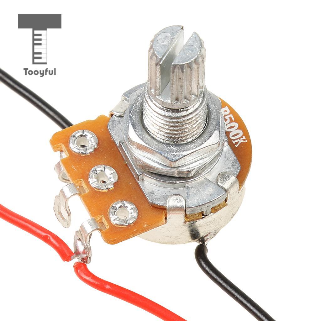 medium resolution of us 4 32 36 off tooyful set of wiring harness prewired 2 volume 1 tone