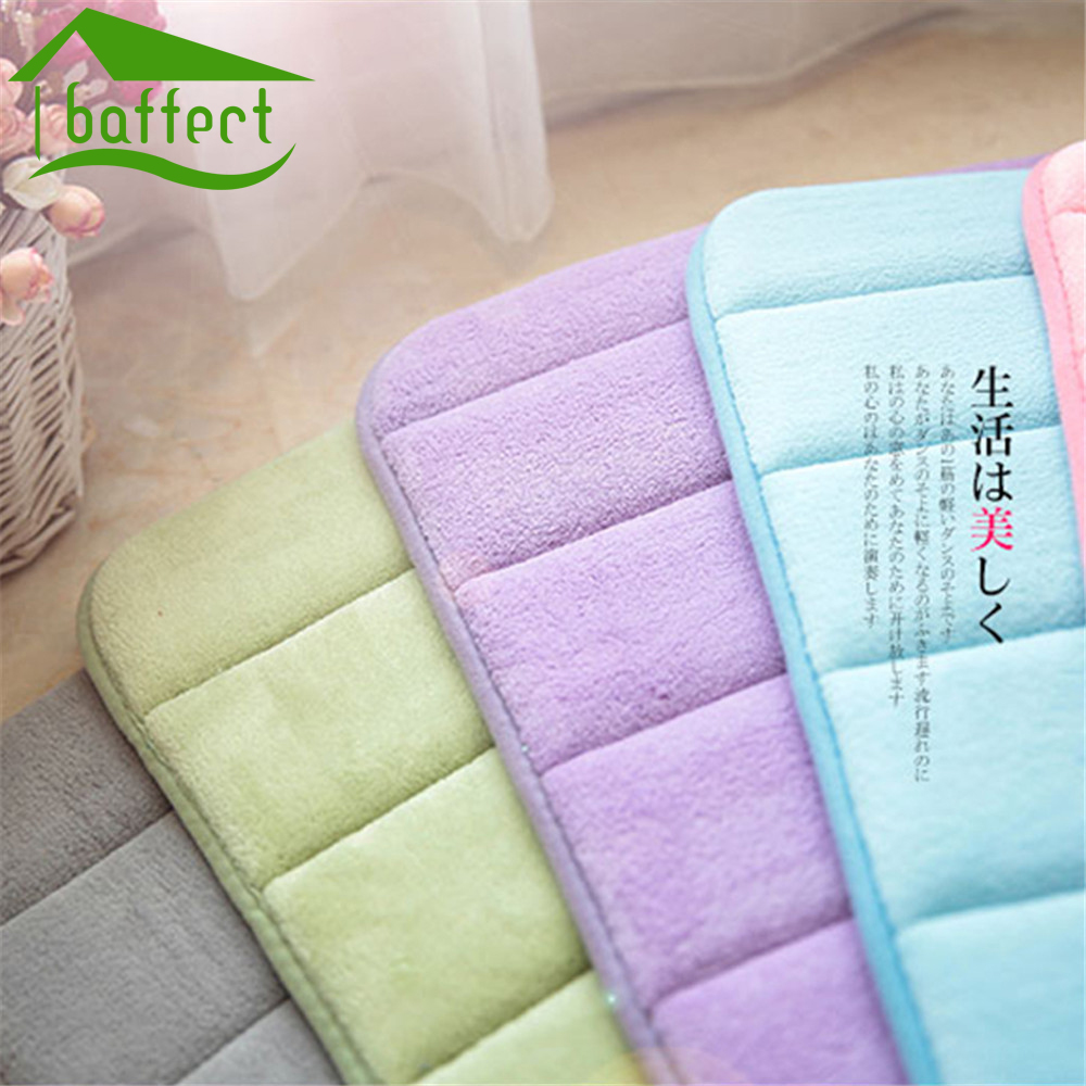 Online kopen wholesale katoen badkamer matten uit china katoen ...