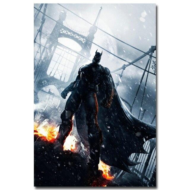 Плакат Гобелен Шелковый Бэтмен Batman Arkham в ассортименте