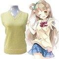 """""""Люблю Жить""""  Косплей  костюм от Yazawa Nico. Свитер жилет, теплый, зимний."""