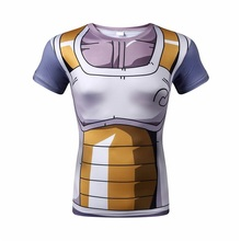WAIBO BEAR New dragon ball t shirt Men armor 3D T-shirt printed compression shirt tops Fitness tight news tee shirt homme