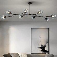 Lámpara de techo nórdica MDWELL para salón lámparas de habitación Retro Loft colgante vintage luminaria led lámpara de techo