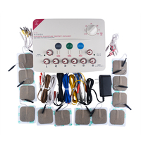CFDA 6 Output channel 110 220V TENS massager machine Health multi functional body relax acupuncture stimulation foot massage