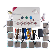 6 Output channel TENS machine.Health multi-functional acupuncture stimulation Acupuncture massage Needles Stimulator muscle massage needle stimulator cmns6 1 electronic acupuncture 6 output channel newest jia jian acupuncture needle stimulator