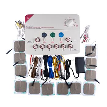 CFDA 6 kanałowy TENS urządzenie do masażu zdrowie ciało relaks akupunktura stymulacja ulga w bólu masaż karku stóp medycyna chińska tanie i dobre opinie Pelvifine Body Masaż i relaks SDZ-II(new) 110-220V DC9v English CE CFDA 0 3W 1-100hz adjustable 100-240V 50 60Hz battery