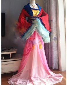 Image 2 - Luo Tianyi Hua Jia 메리 웨딩 신부 의상 Hanfu VOCALOID 애니메이션 모바일 게임 코스프레 Hanfu 로리타 여성 공주 Hanfu