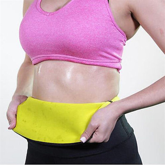 Slim Belt Sweat Waist Trainer  Shapers Slim Under Wear Tummy Sauna Heated Stomach Slimming Shapewear Waist Cincher Shaper