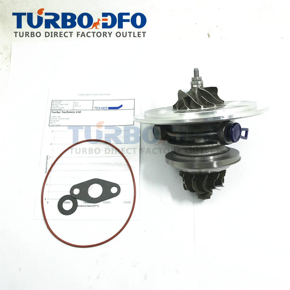 For Mercedes Vito 108 CDI (W638) OM611.980 60 KW 82 HP 1999- GT1749S CHRA TURBO PARTS turbocharger core 704059 704059-0001 turbo cartridge chra core gt1749s 700273 700273 0001 28200 4b160 for hyundai h100 truck h200 2 5l 1995 d4bf 4d56t turbocharger