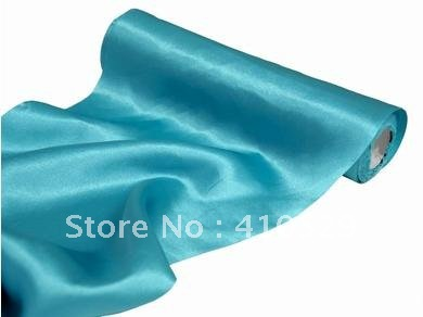 Free Shipping Satin Roll Fabric 30cm 9m Sky Blue Table Runners In From Home Garden On Aliexpress Alibaba Group