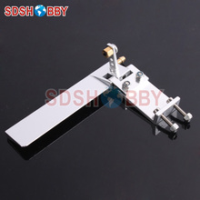 95mm Aluminum Alloy Single Rudder for RC Boat with Water Pickup 3 3mm