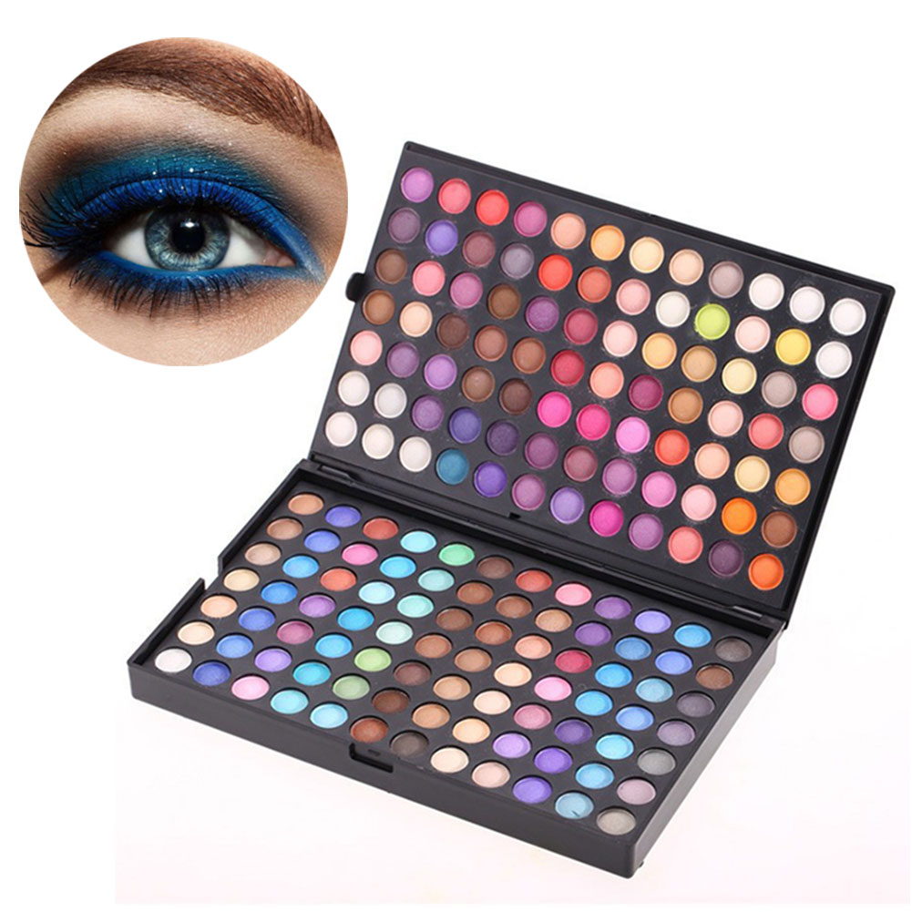 Fashion 252 Colors Eyeshadow Palette Shimmer Matte Eyes Makeup Beauty Cosmetics Eye Shadow Women Make Up Tool YF2017