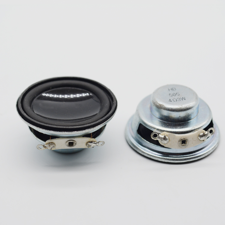 36Mm Mini Full Range Speaker 4Ohm 3W Bluetooth Speaker DIY Tweeter Mid Woofer Speaker Internal Magnetic 2PCS