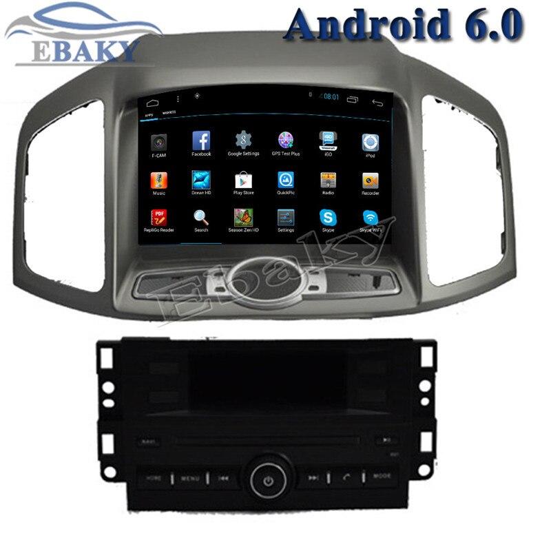 NaviTopia 1024*600 4 ядра 8 inch 1 ГБ/2 ГБ Android 6,0 автомобилей Радио для Chevrolet Captiva 2011 2012 с WI-FI/карта/gps