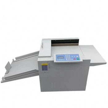 New Paper Creasing Machine and Paper Perforating Machine 2 in 1 Paper Creaser and Perforator Book Spine Making