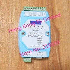 Image 5 - YN 5204 изолированный 4 портовый ретранслятор RS485 вместо UT5204 изолированный RS323/485 до 4 Портовый RS 485 Hub YN5204
