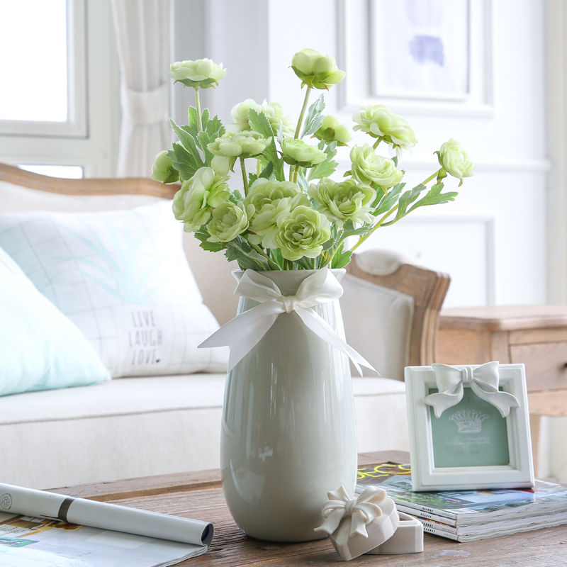 Bekend Grote Vaas Met Nepbloemen. Fabulous Grote Vaas Met Bloemen With  PP51