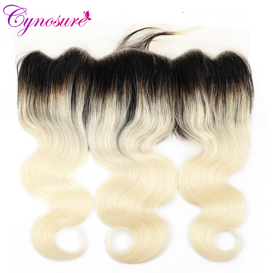 Hair Extensions & Wigs 3/4 Bundles With Closure Precise Alipearl Blonde Hair Bundles With Frontal Colored #27 Lace Frontal Closure With Bundles Remy Hair