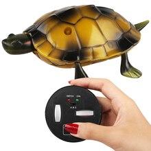 Инфракрасный свет дистанционного управления игрушка-черепаха Детские обучающие игрушки для детей подарок на праздник товары для матери и ребенка