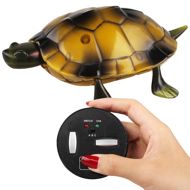 luz infravermelha brinquedo de controle remoto tartaruga brinquedos educativos das criancas presente do feriado das criancas